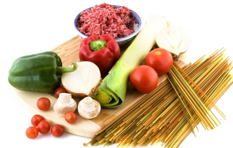 spaghetti ingredients11471947