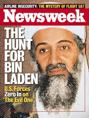 Newsweek Cover - [Osama bin Laden] The Hunt For bin Laden